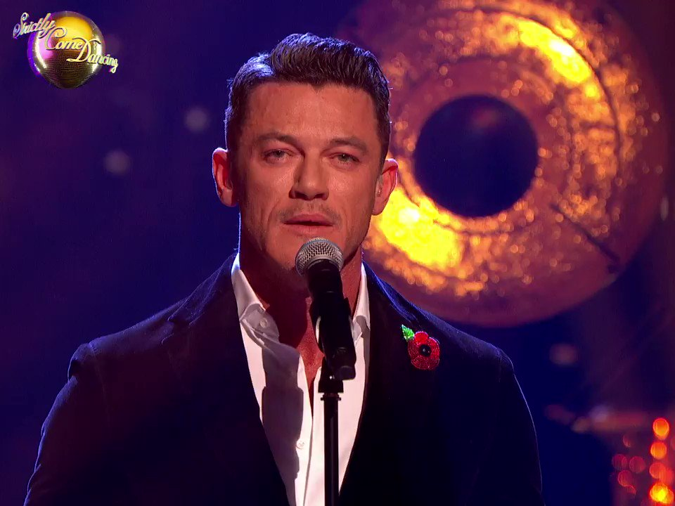 Bringing home the emotion of Les Mis to the #Strictly ballroom, thank you @thereallukeevans . ✨