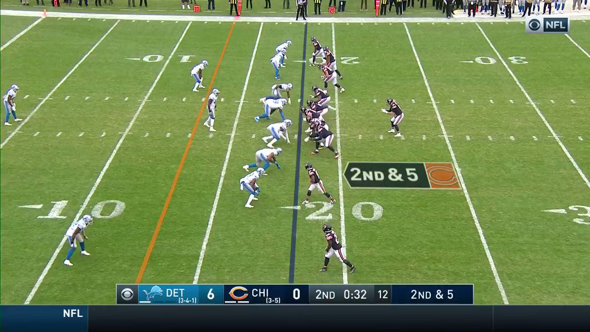 Week 10: Chicago Bears beat the Detroit Lions 20-13