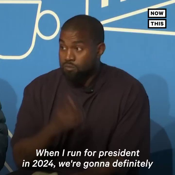 'Christian Genius Billionaire Kanye West' is serious about running for president in 2024