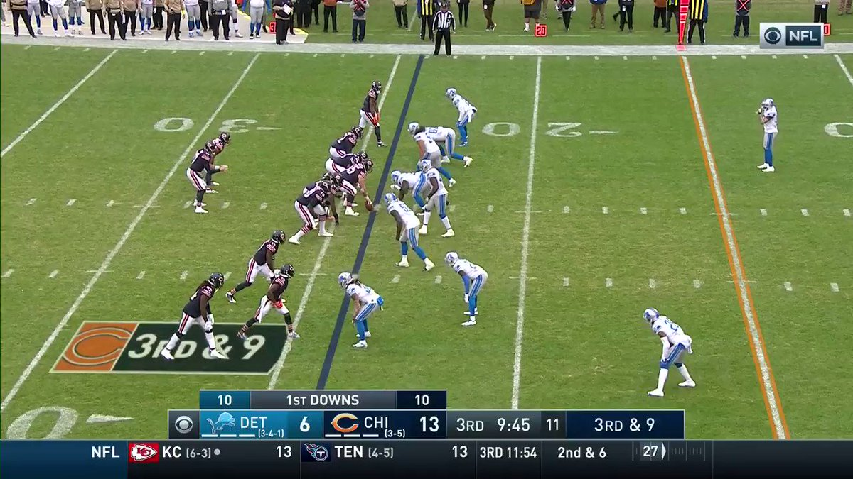 Column: Chicago Bears do just enough to beat Detroit Lions