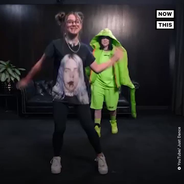 Watch Billie Eilish hilariously surprise fans as they danced to her hits on 'Just Dance 2020' 😂