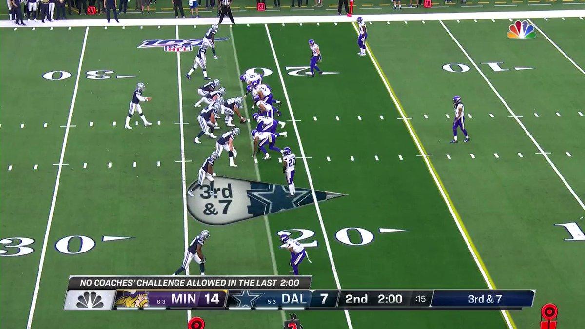 ¡WaO! 🙌 Dak ➡️Cobb : TOUCHDOWN Cowboys #MINvsDAL Marcador actual: MIN 14 - DAL 14