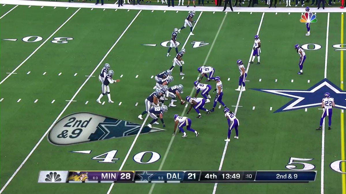 """Dak's my quarterback..."" - Amari Cooper, probably.  #MINvsDAL | #DallasCowboys"