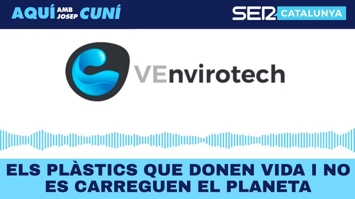 Mitjançant una tecnologia pròpia i entrenant uns bacteris perquè es mengin els residus de difícil gestió, generen un bioplàstic que millora la qualitat de vida de les persones mentre preserven el medi ambient... Parlem de @VEnvirotech amb @PatriAyma i @piposerrano!
