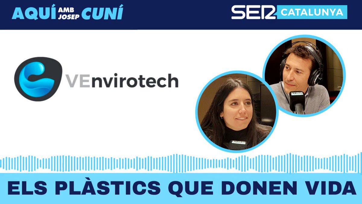 Hi ha un plàstic que pot ser gestionat més ràpidament i és més bo pel medi ambient, i nhi ha un altre que necessita una mica més de feina Descobreix @VEnvirotech amb @piposerrano i @PatriAyma, cofundadora i directora de tecnologia. Més, a: bit.ly/2Kcj4cr