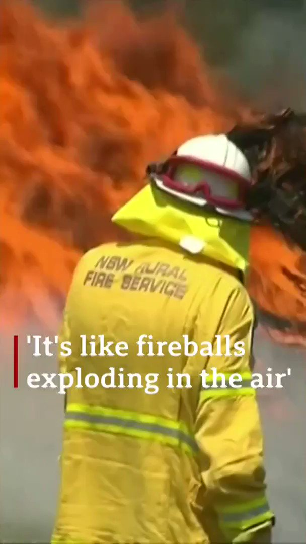 The fires still came at us even though we were very well prepared As Australia battles catastrophic bushfires, one mayor describes the terrifying scenes as fires consumed her town [tap to expand] bbc.in/2CxP1Yt