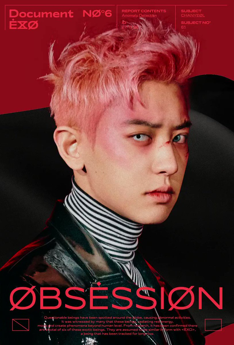 X-EXO 엑스-엑소 Motion Poster #CHANYEOL 🎧 2019.11.27. 6PM (KST) 👉 exodeux.smtown.com ✔ The first result comes out at 6 am(KST), and it will be updated every 6 hours. #EXO #엑소 #EXOonearewe #weareoneEXO @weareoneEXO #OBSESSION #EXODEUX