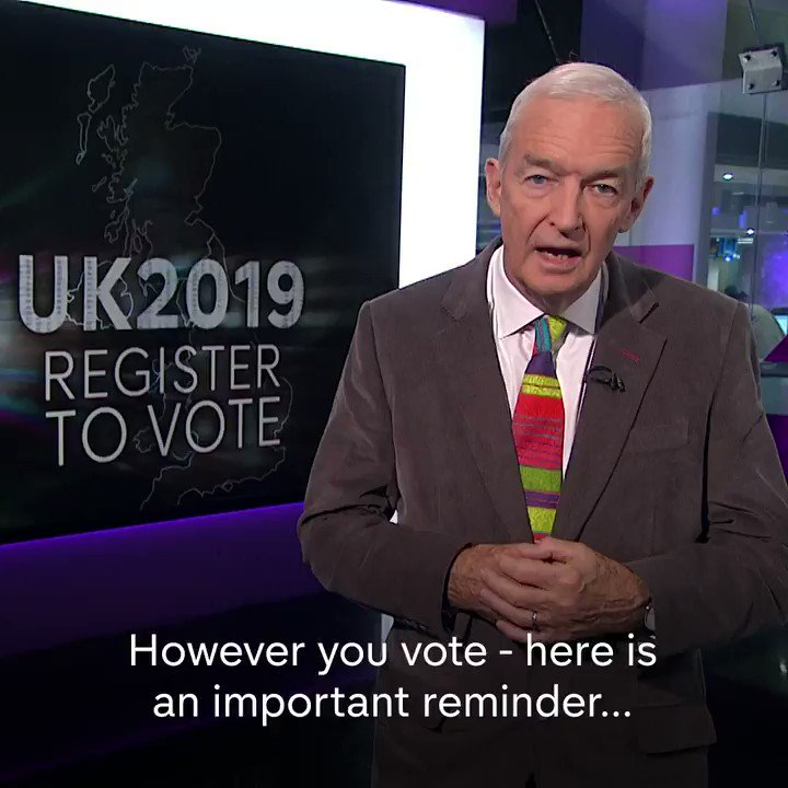 The general election is your chance to have a say on how the country is run for the next five years. You can register to vote up until 26 November in England, Scotland and Wales and 21 November in Northern Ireland.