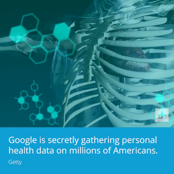 #Google is secretly gathering personal health #data on millions of Americans.#privacy #security #news #video
