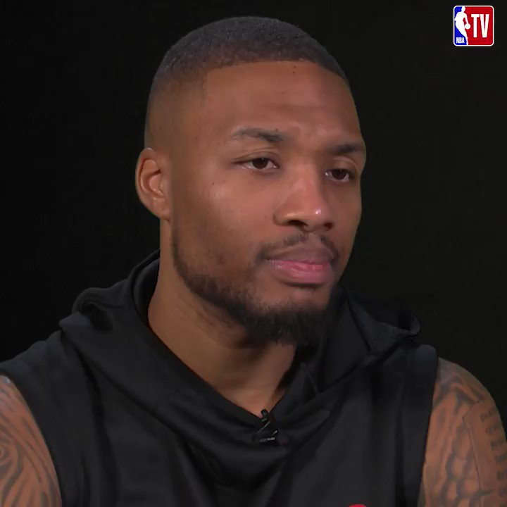 """""""Last year they didn't expect us to do anything and we were one of the final four teams."""" Dame Portland being overlooked.  Don't miss them battle the Kings at 10pm ET on NBA TV!"""