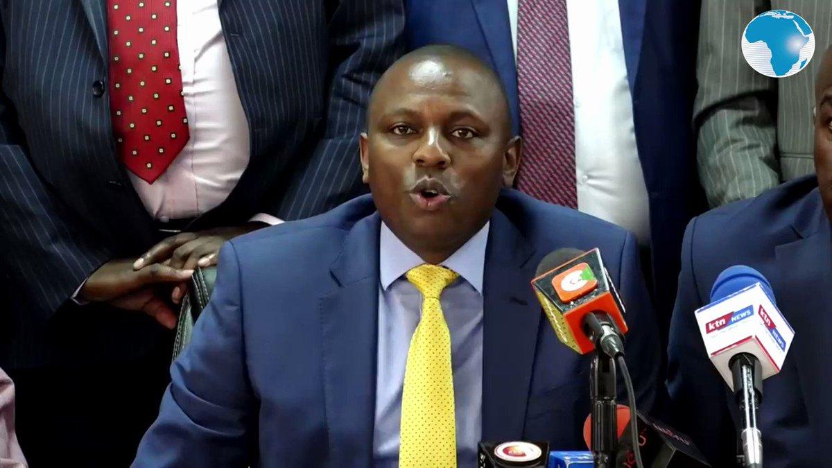 Raila Odinga is blackmailing Uhuru ~ MP Kimani Ichung'wa