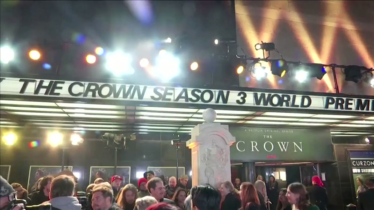 'New royals' hit the red carpet at the world premiere of 'The Crown'. Season three of the royal drama will be released on Netflix on Nov. 17 https://reut.rs/2qNTeoi