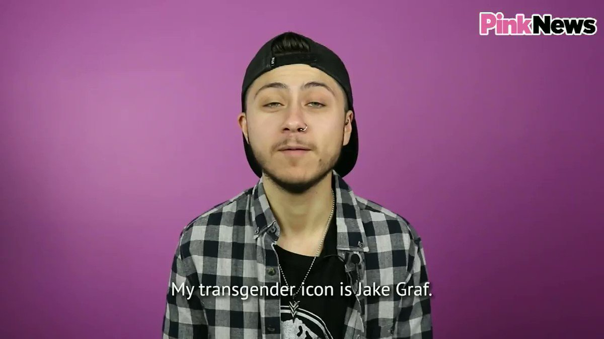 Who is your trans hero? Trans man @queermurphys wants to celebrate trans filmmaker @JakeGraf1 🌈 #TDOV