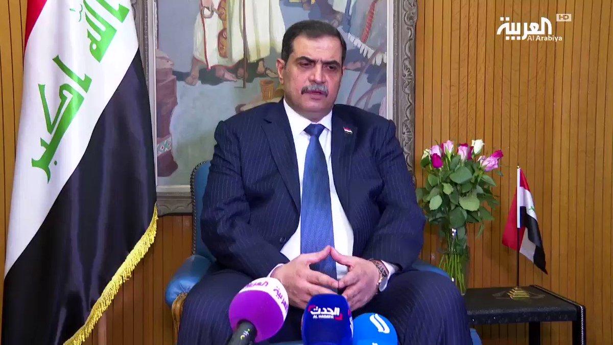 وزير الدفاع العراقي نجاح الشمري: الجهات الأمنية لم تستورد نوعية الرصاص والأسلحة التي استخدمت في قتل المتظاهرين #تظاهرات_العراق