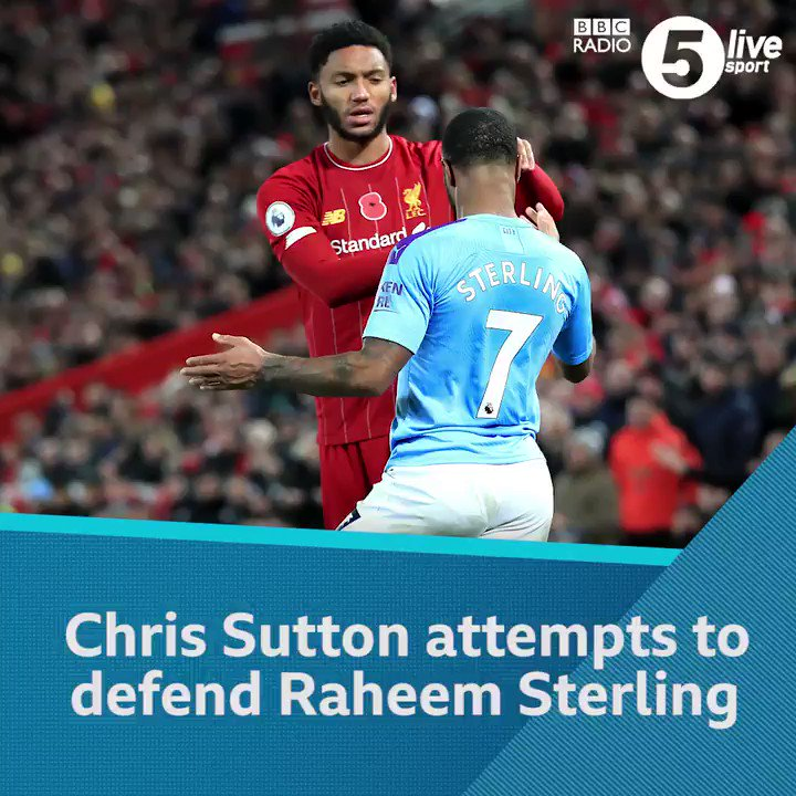 Raheem Sterling has been watching from the stands tonight.But, @chris_sutton73 thinks he should have been in the squad.Commentary of #ENGMON via @BBCSounds 👇📲⚽️: http://bbc.in/2qPqoDQ #bbcfootball #threelions