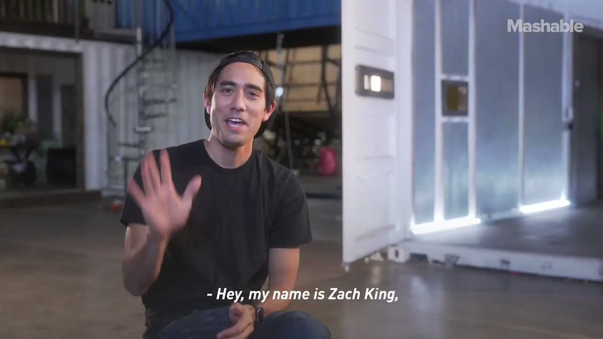 Welcome to Zach King's world of digital magic
