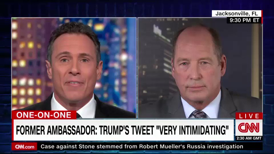 Republican Rep. Ted Yoho argues that Pres. Trumps push for an investigation in Ukraine was merely a part of a legitimate probe into meddling in the 2016 US election, adding none of this is impeachable.