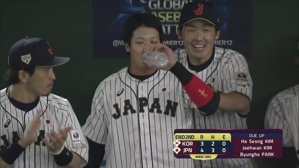この源田の喜びようよ#源田たまらん#侍ジャパン #侍野球