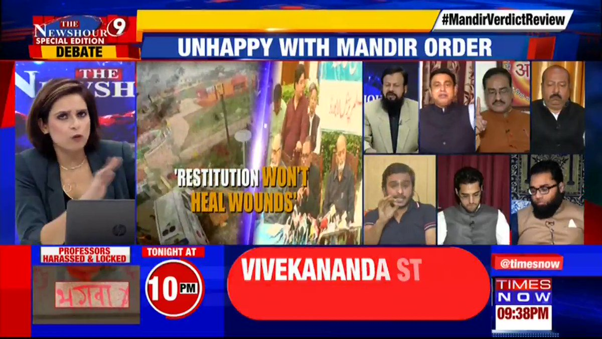 India is the most beautiful country in the world: Haziq Khan, Islamic Scholar tells Preeti Dahiya on @thenewshour Special Edition. | #MandirVerdictReview