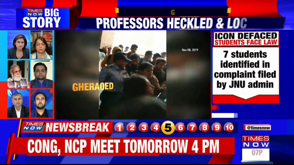 One has to look at this issue from a holistic dimension: Vishweshwar Rao, Professor, Osmania University tells TIMES NOW over @INCIndia justifying vandalism in JNU.