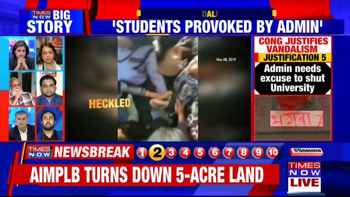 The fee-hike was an administrative decision: @jainniti, Spokesperson, BJP tells TIMES NOW over @INCIndia justifying vandalism in JNU.