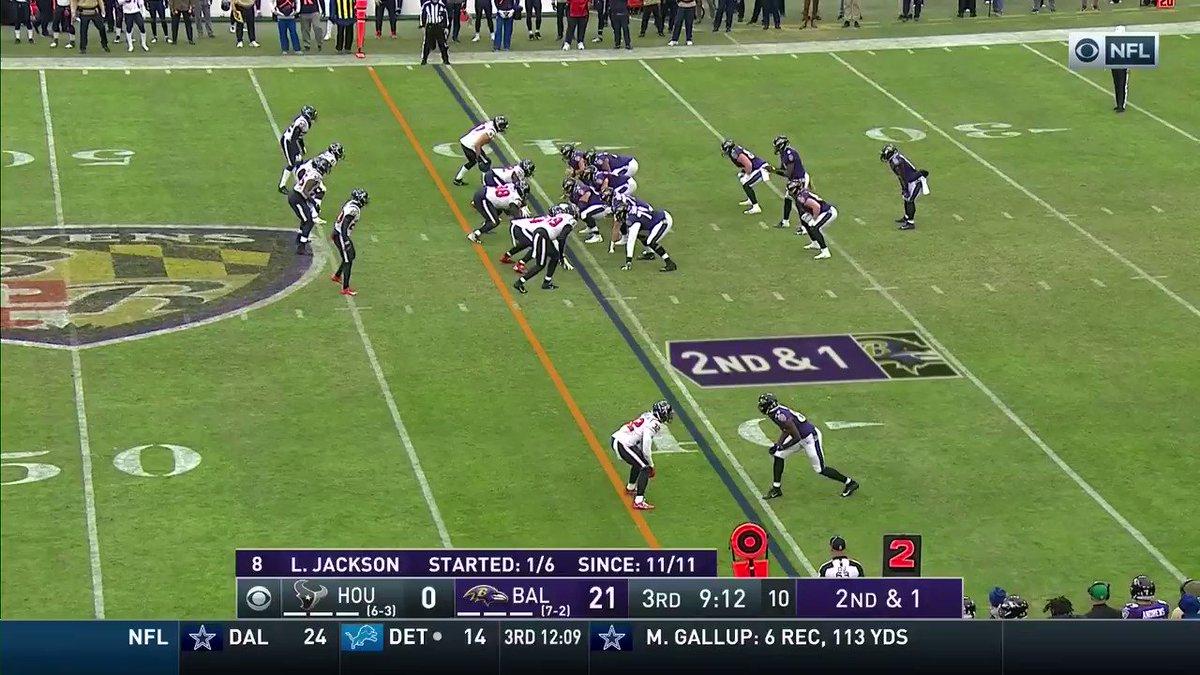 Lamar Jackson highlights: Jackson shreds the Texans on a 39-yard run