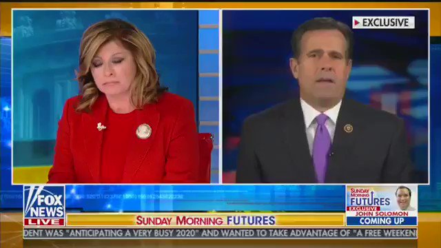 They dont want that to come until AFTER theyve impeached the President. @RepRatcliffe says Democrats are racing to beat the release of Horowitzs FISA abuse report, which he said was likely to be damning. washex.am/2OmxY0P