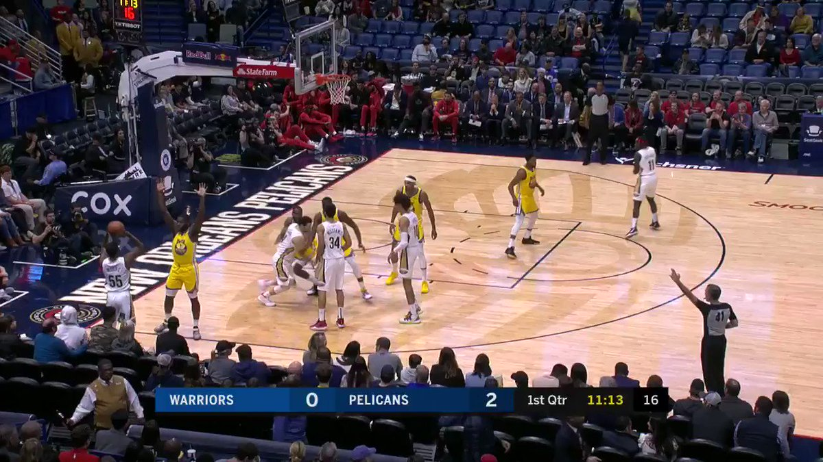 Jaxson Hayes recorded a double-double in first start for the Pelicans