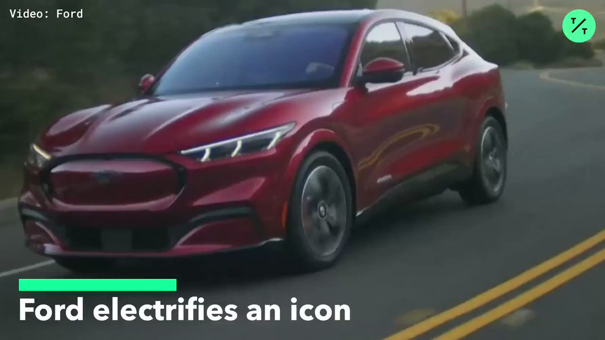 Ford just rolled out the electric #Mustang Mach-E to compete with Tesla.Read: http://bit.ly/2QsbvlG