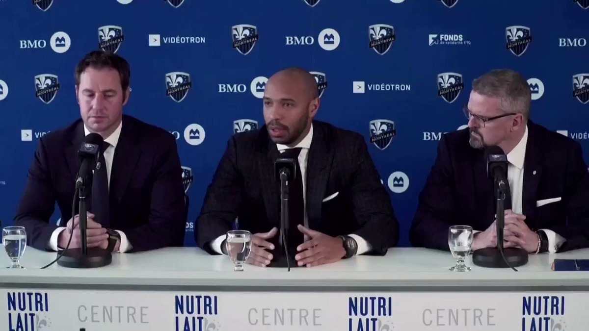 Former French striker Thierry Henry, who takes over as the coach of Montreal Impact, hopes to learn from his past mistakes  https://reut.rs/2XuqFsj