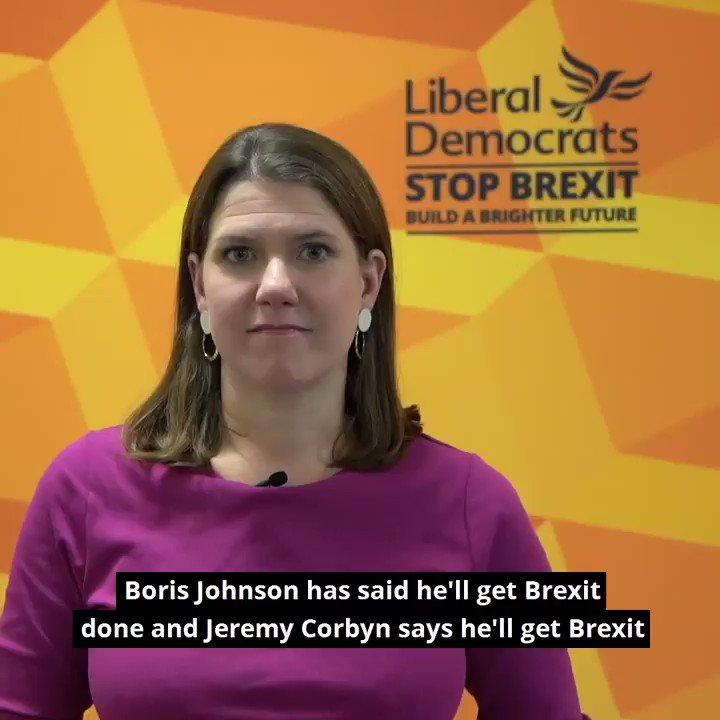 What Johnson and Corbyn wont tell you is that whatever happens if we leave the EU, this is the beginning of years of negotiations. The Liberal Democrats will stop Brexit on day one and build a brighter future #ITVDebate