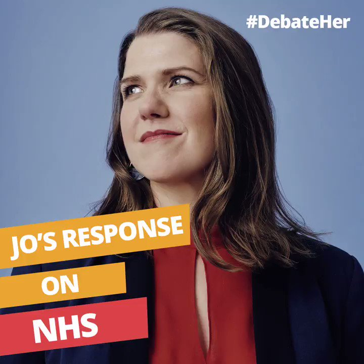 Johnson and Corbyn wont tell you the truth - the biggest threat to our NHS is Brexit. Only the Liberal Democrats will stop Brexit and protect our NHS. #ITVDebate