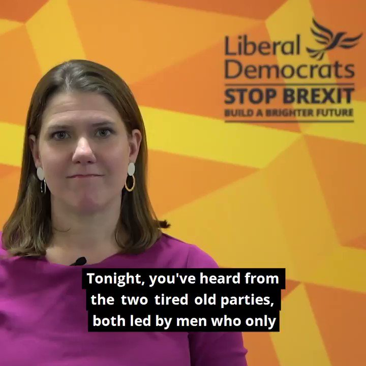The voice of Remain was shut out of #ITVDebate tonight. You heard nothing new from two backwards looking parties, both of whom want to deliver Brexit. You can choose differently. On 12 December, vote Liberal Democrat to stop Brexit and build a brighter future.