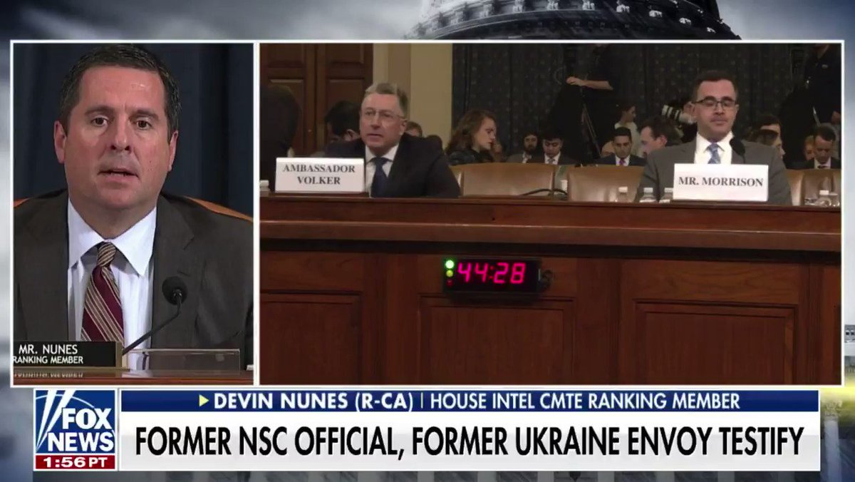 """The Dems' new """"bribery"""" narrative is unraveling quickly.  More witnesses confirmed today that they were never asked to bribe or extort anyone.  Maybe Dems should base their allegations on actual evidence, not focus groups.  Dems have no case."""