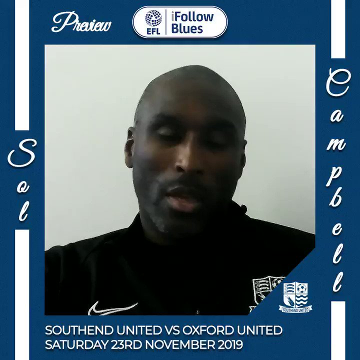 Weve got to fight for every single point. Sol Campbell has been speaking ahead of Saturdays game against Oxford United. Tickets 👉 bit.ly/2Xv2WIe #SOUvOXF
