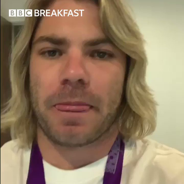 Are we ever going to hear the end of this from @fafdeklerk? 🏆😂 Catch our #RWC2019 Champion, alongside @EnglandRugby man of the moment @TomCurry98 on @BBCBreakfast tomorrow morning! 🙌 #SharkTime | @UKFast