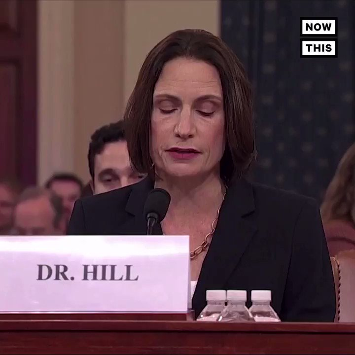 Image for the Tweet beginning: Thank you, Dr. Fiona Hill,