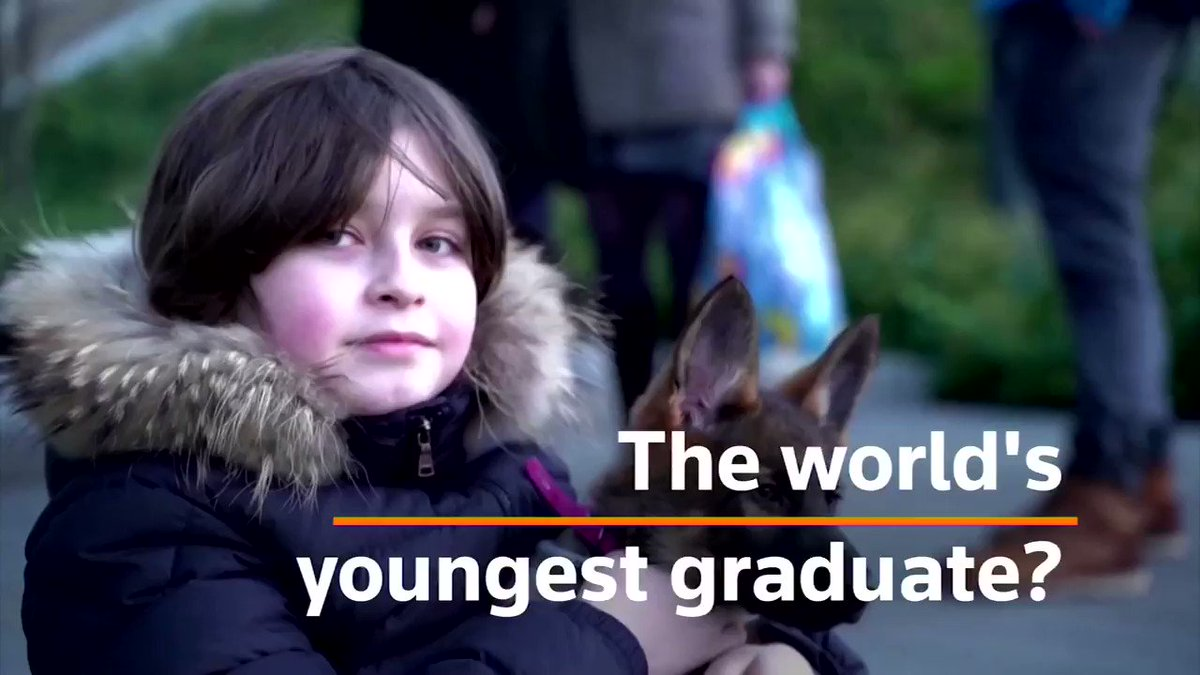 Throwback: 'He's maybe three times smarter than the smartest student we've ever had.' Nine-year-old Laurent Simons is all set to become the world's youngest university graduate when he completes a bachelor's degree in electrical engineering next month