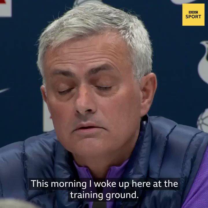 One more (apparently very good) sleep until Jose Mourinhos (latest) Premier League return 😁
