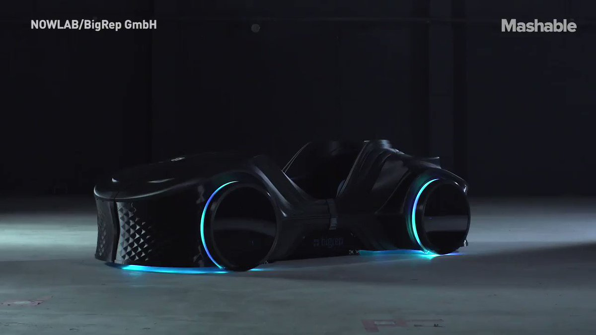 This car has everything. It's fully electric, #3Dprinted, and is chock full of the #latesttech  #autonews #ElectricVehicles #autotech #autonomousdriving #AutonomousVehicles #additivemfg #additivemanufacturing