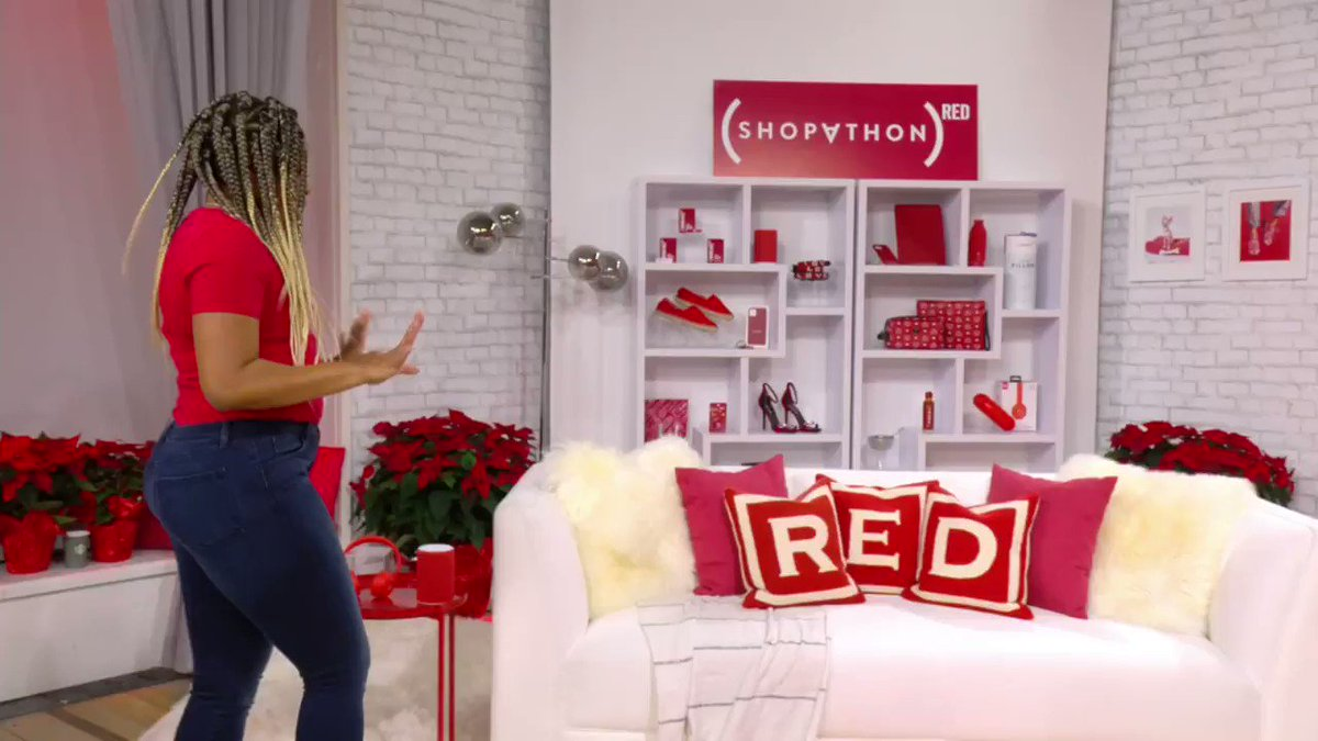 .@Dopequeenpheebs & @JMunozActor show off AIDS-fighting gifts anyone will love on @RED's #AmazonLive show! @amazon #SHOPATHON