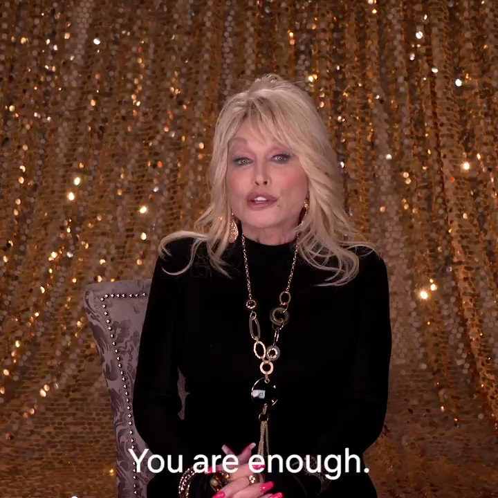 Happy Birthday Dolly Parton — a true icon who has spent her life inspiring generations with her music and her actions. So the next time you're feeling low, ask yourself:   What Would Dolly Do?