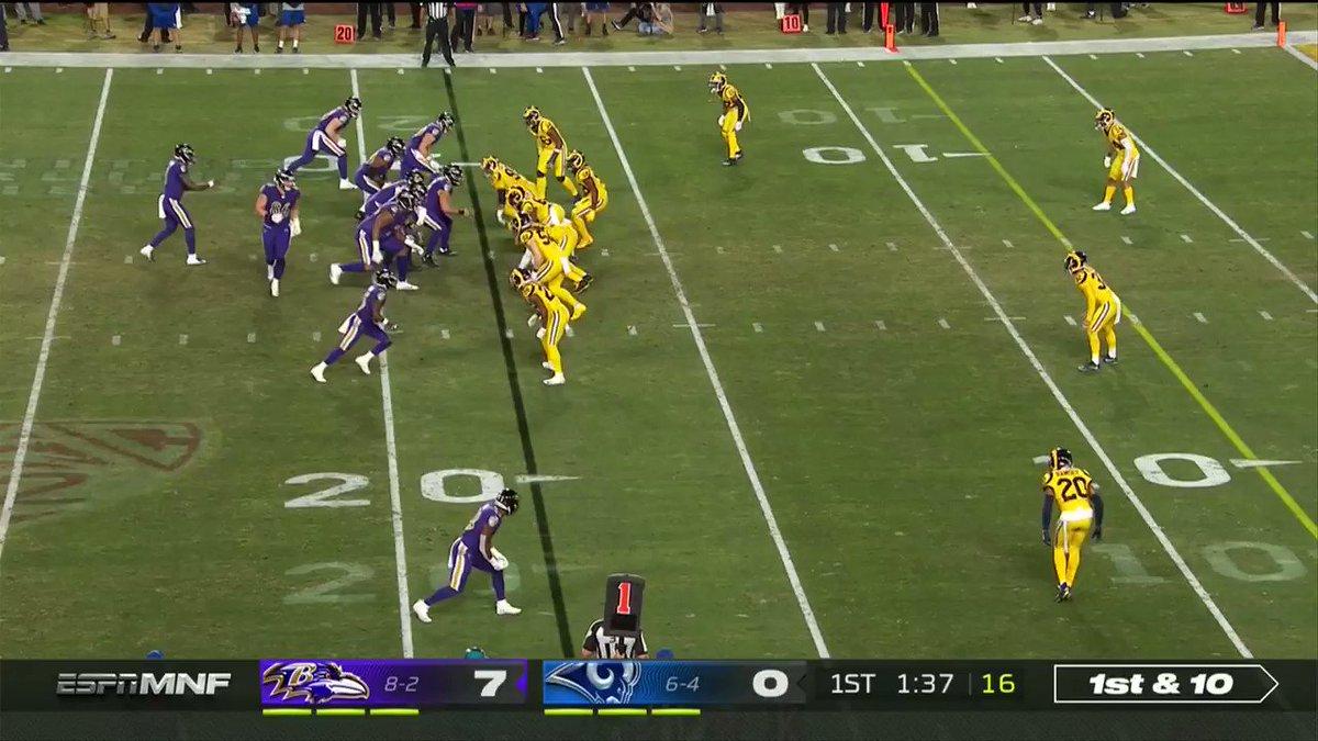 L A M V P A R Second TD pass to Hollywood in the first quarter. (via @NFL)