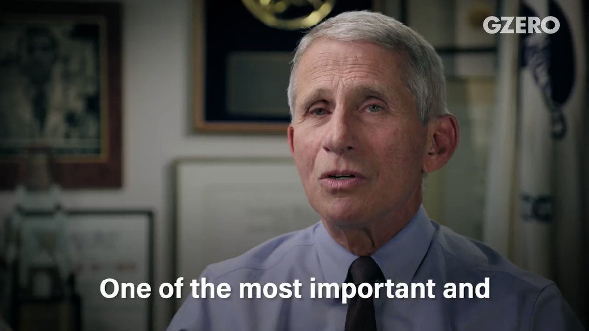 Dr. Anthony Fauci: vaccinations are safe. Watch @gzeromedia's #GZEROWorld episode: bit.ly/2KRyaUZ