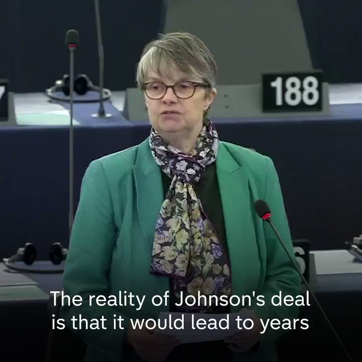 """""""As far as I'm aware she does not have any degree in economics.""""  """"I was and I remain a professor of economics.""""  This is what happened when a Brexit Party MEP questioned the expertise of Green MEP Molly Scott Cato over post-Brexit trade."""