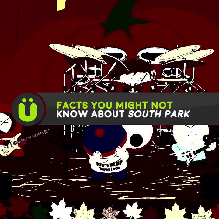 Facts you didn't know about South Park.😳