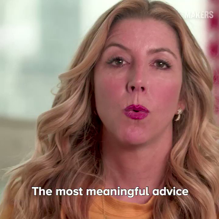 Sara Blakely, the founder of @SPANX shares the most meaningful advice she got from her dad. 🙌