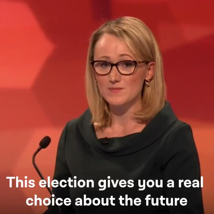 This election gives you a real choice about the future for you and your family, and for our country. - @RLong_Bailey #BBCDebate #OnYourSide