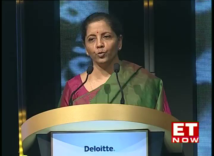 The govt alongside @RBI proved that there was no liquidity shortage in the system, says #FinanceMinister at the #ETAwards 2019. @nsitharaman. @FinMinIndia @BJP4India