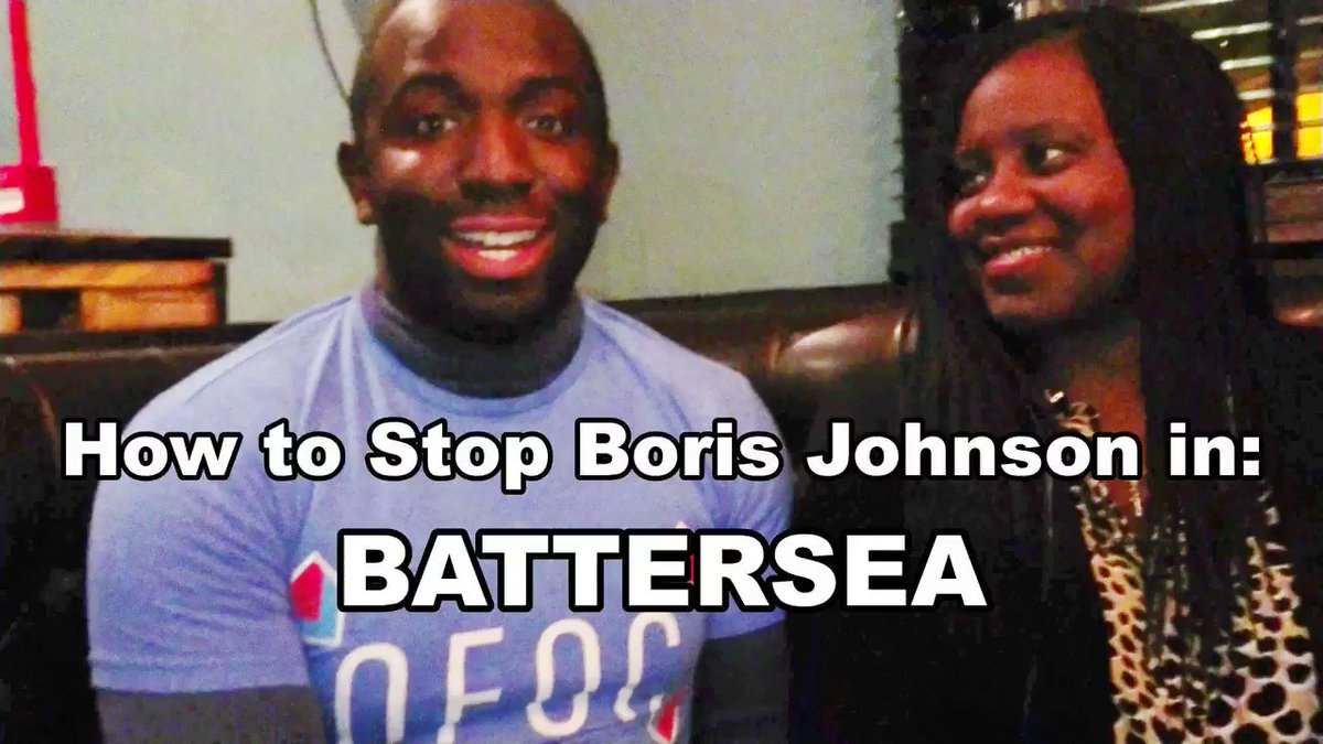 If you live in #Battersea and you want to Stop Brexit and you dont fancy having a Tory MP wholl let Boris Johnson trash the country, PLEASE #VoteTactically for @MarshadeCordova. #GE2019 @Femi_Sorry